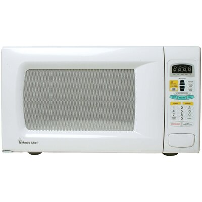 1.3 Cu. Ft. 1100W  Countertop Microwave in White Product Photo