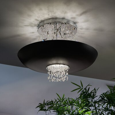 Empire 9 Light Semi-Flush Mount Product Photo