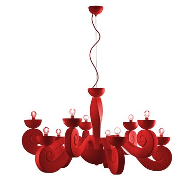 Masiero Botero 10 Light Chandelier
