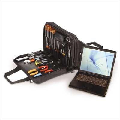 Z190 Double Zipper Tool/Laptop Case by CH Ellis