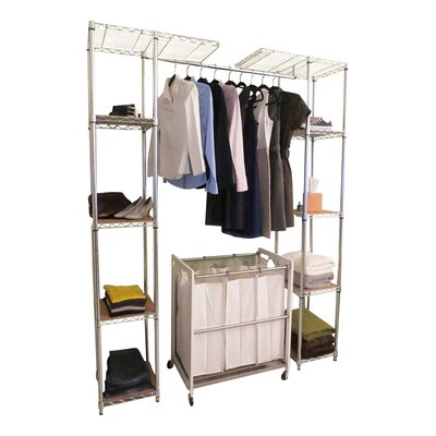 "EcoStorage™ 14"" Deep Expandable Closet Organizer Product Photo"