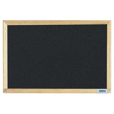 AARCO Economy Composition Wall Mounted Chalkboard