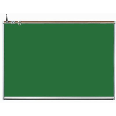 AARCO All Purpose Professional Wall Mounted Magnetic Chalkboard