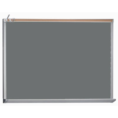 AARCO Architectural High Performance Magnetic Wall Mounted Chalkboard