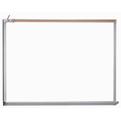 AARCO Architectural High Performance Magnetic Wall Mounted Whiteboard