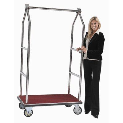 AARCO Tall Luggage Cart