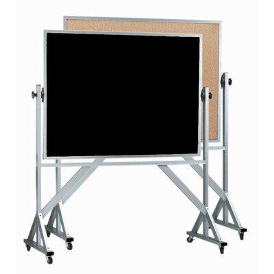 AARCO Reversible Free Standing Combination Chalkboard