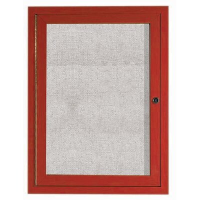AARCO Outdoor Enclosed Wall Mounted Bulletin Board