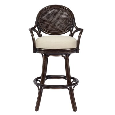 Dahlia Swivel Bar Stool with Cushion by Selamat