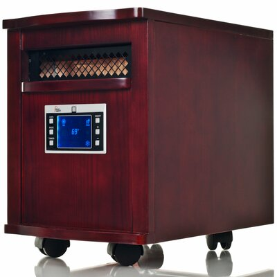 5,200 BTU Portable Electric Infrared Cabinet Heater by Warm House