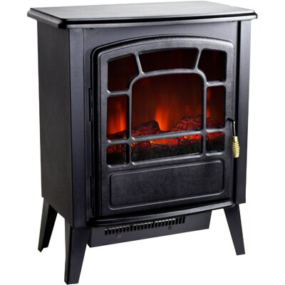 Warm House Bern Retro Style Floor Standing Electric Fireplace