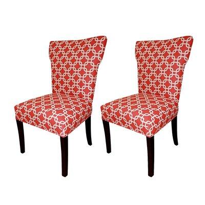 Bella Cotton Wingback Cotton Slipper Chair by Sole Designs