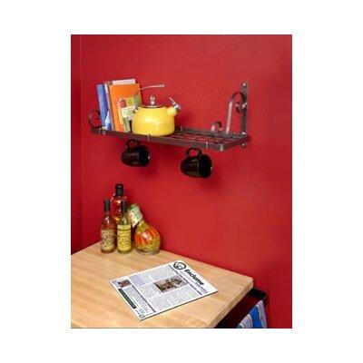 Enclume Decor Bookshelf Wall Mounted Pot Rack