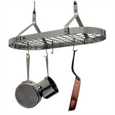 Grid Hanging Pot Rack by Enclume