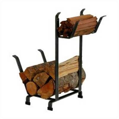 Country Home Steel Log Rack by Enclume