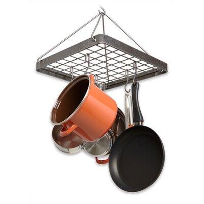 Decor Cottage Square Hanging Pot Rack by Enclume