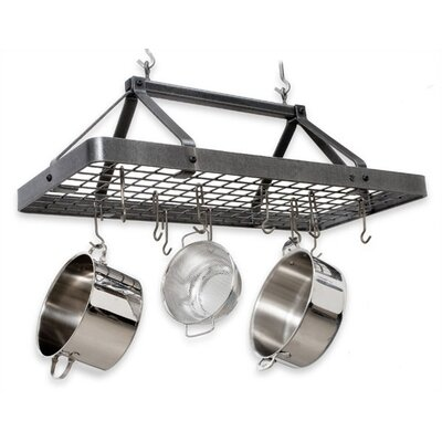 Carnival Rectangle Hanging Pot Rack by Enclume