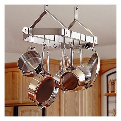 Century Hanging Pot Rack by Enclume