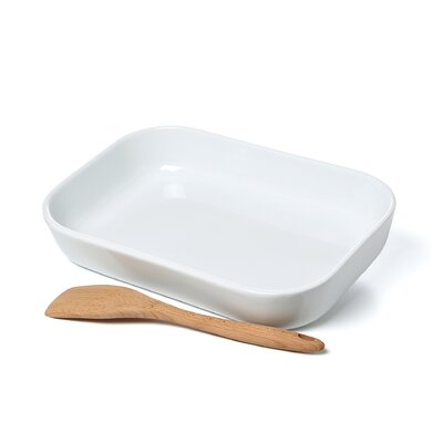 "Cuisinox 15"" x 9.5"" Porcelain Baker"