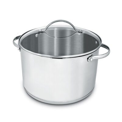 Deluxe Stainless Steel Round Dutch Oven by Cuisinox