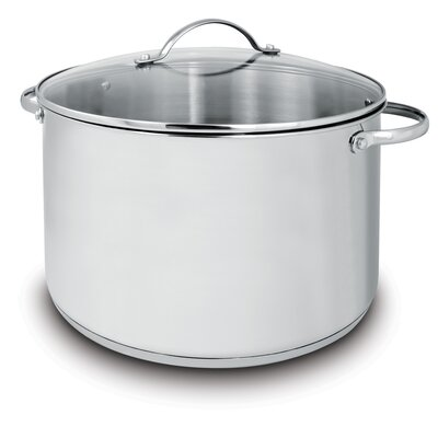 Deluxe 11-qt. Stock Pot with Lid by Cuisinox