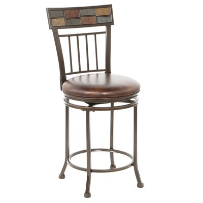 Hillsdale Montero 24 Quot Swivel Bar Stool With Cushion