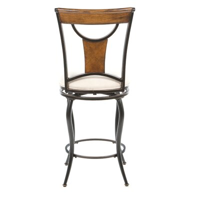"Hillsdale Furniture Pacifico 26"" Swivel Bar Stool with Cushion"