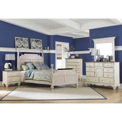 Pine Island Panel 5 Piece Bedroom Set by Hillsdale