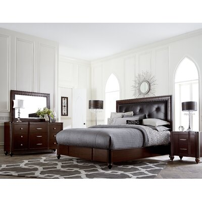 Roma Panel 4 Piece Bedroom Set by Hillsdale