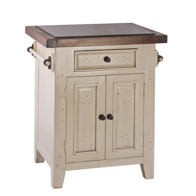 Tuscan Retreat® Kitchen Cart with Granite Top Product Photo