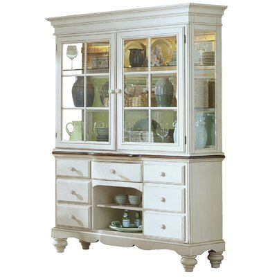 Pine Island China Cabinet by Hillsdale