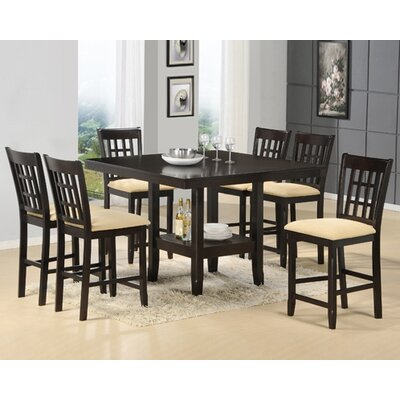 Tabacon 7 Piece Dining Set by Hillsdale