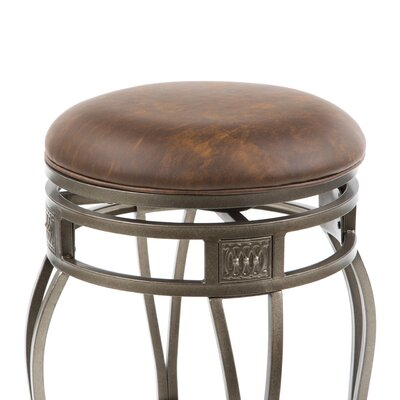 Hillsdale Montello 26 Quot Swivel Bar Stool With Cushion