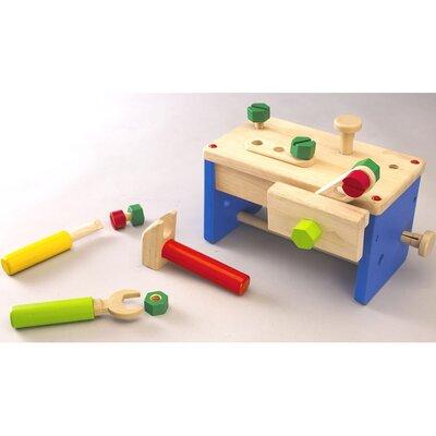 Work Bench 'N' Box Portable Play Carpentry Set by Wonderworld