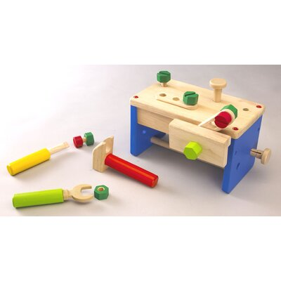 Wonderworld Work Bench 'N' Box Portable Play Carpentry Set