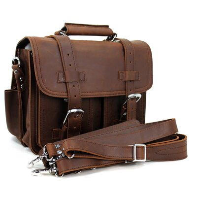Medium CEO Leather Briefcase and Backpack by Vagabond Traveler