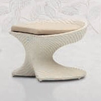Party Foot Stool with Cushion by 100 Essentials