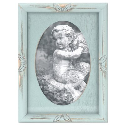 Malden Oval Washed Picture Frame