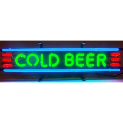 Neonetics Business Signs Cold Beer Neon Sign