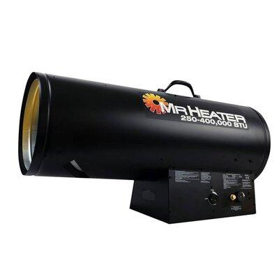Mr. Heater Forced Air 400,000 BTU Portable Propane Forced Air Utility Heater