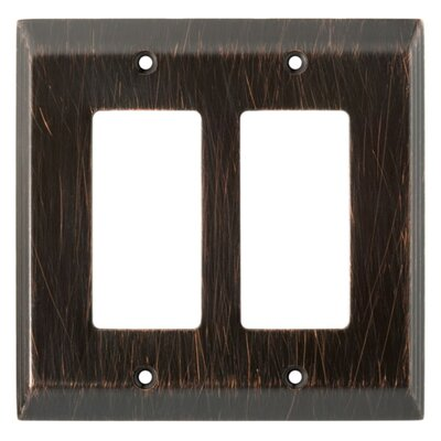 Brainerd Stately Double Decorator Wall Plate