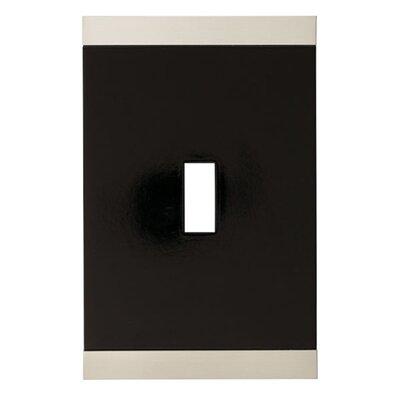 Basic Stripe Single Switch Wall Plate by Brainerd