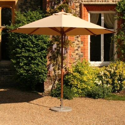 10' Round Bamboo Market Umbrella by Bambrella