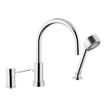 deck mounted kitchen sink faucet with spray jet remer