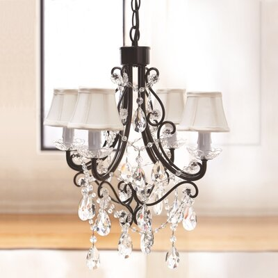 4 Light Mini Chandelier Product Photo