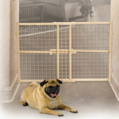 Wire Mesh Wood Pet Gate by Midwest Homes For Pets