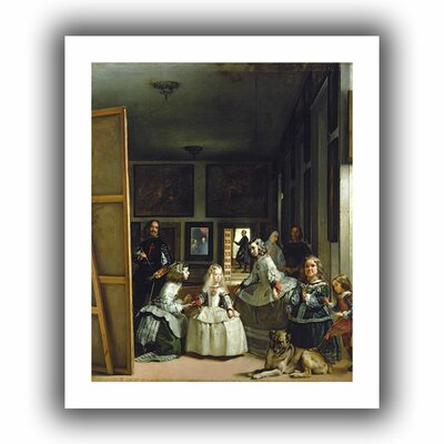 ArtWall 'Las Meninas or the Family of Philip IV' by Diego Velazquez Canvas Poster
