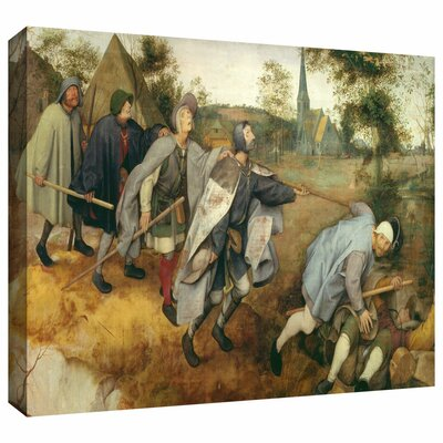 ArtWall 'Parable of the Blind' by Pieter Bruegel Gallery Wrapped on Canvas