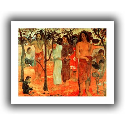 ArtWall 'Nave Nave Mahana (Delightful Days)' by Diego Velazquez Canvas Poster