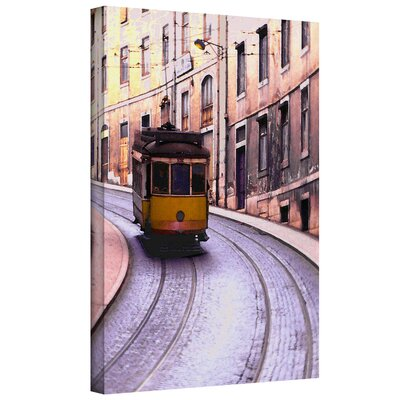 Lisbon Transit' by Dean Uhlinger Photographic Print Gallery-Wrapped Canvas Art by ArtWall